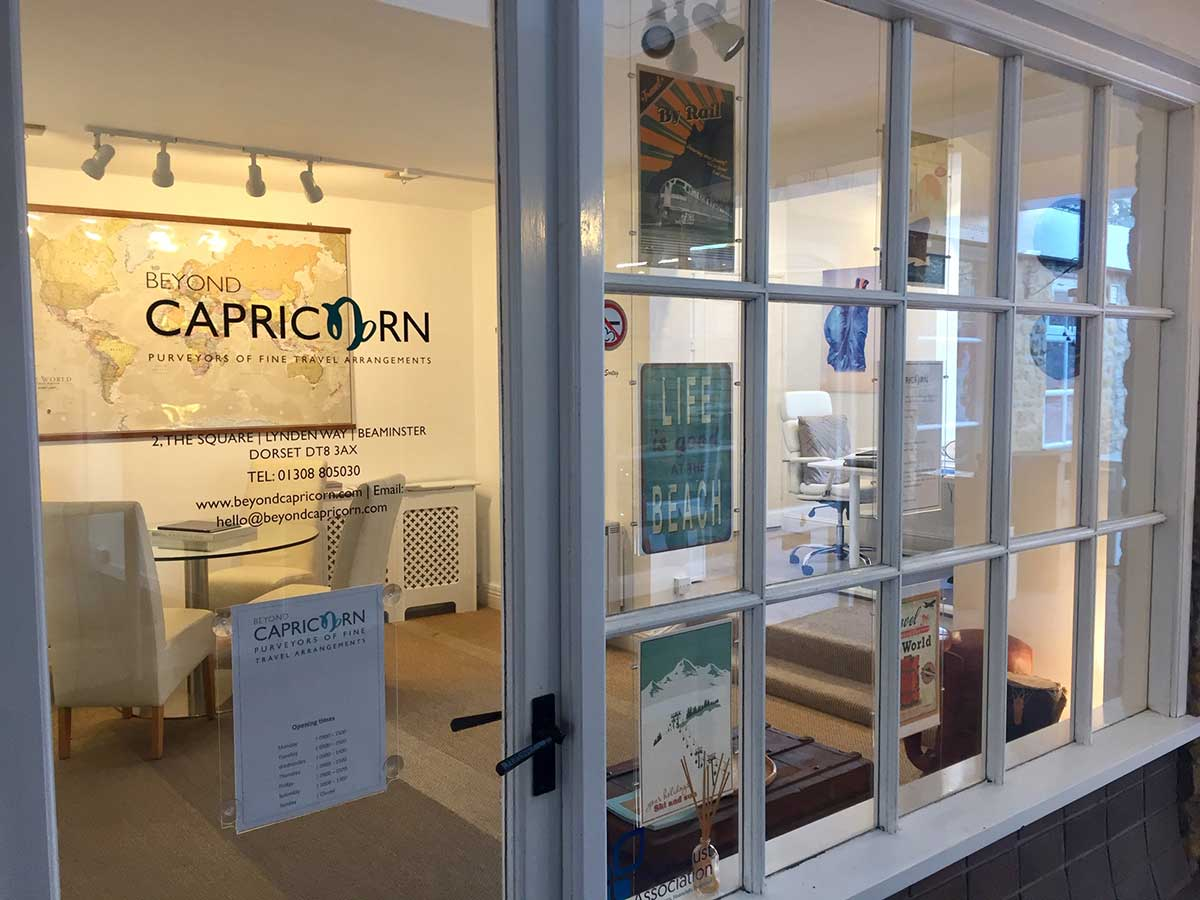 Beyond Capricorn office in Beaminster