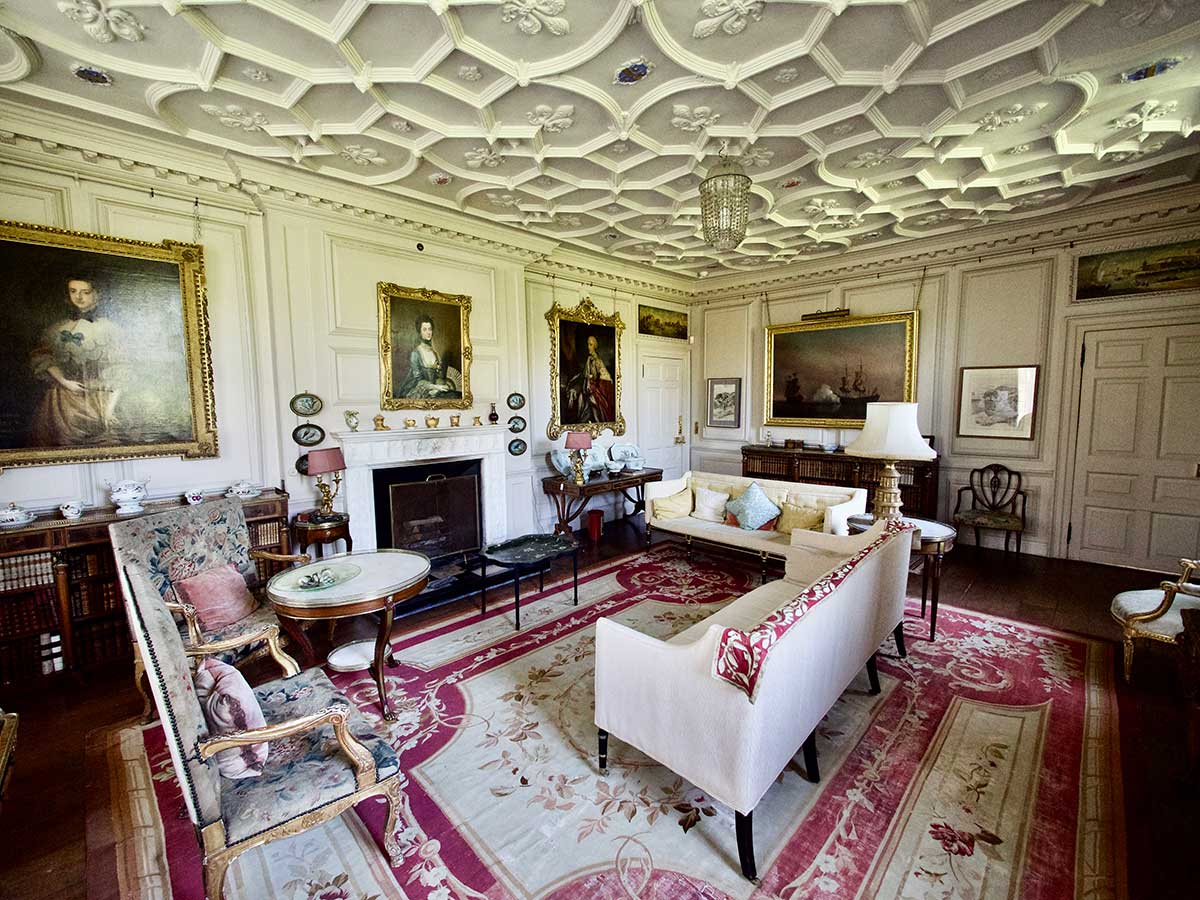 The Drawing Room at Mapperton House