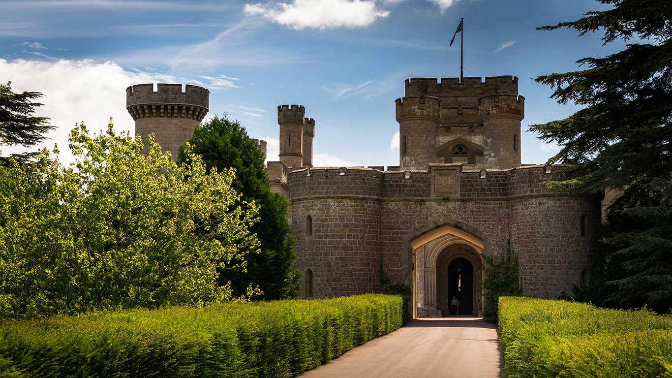 Eastnor Castle Entrance