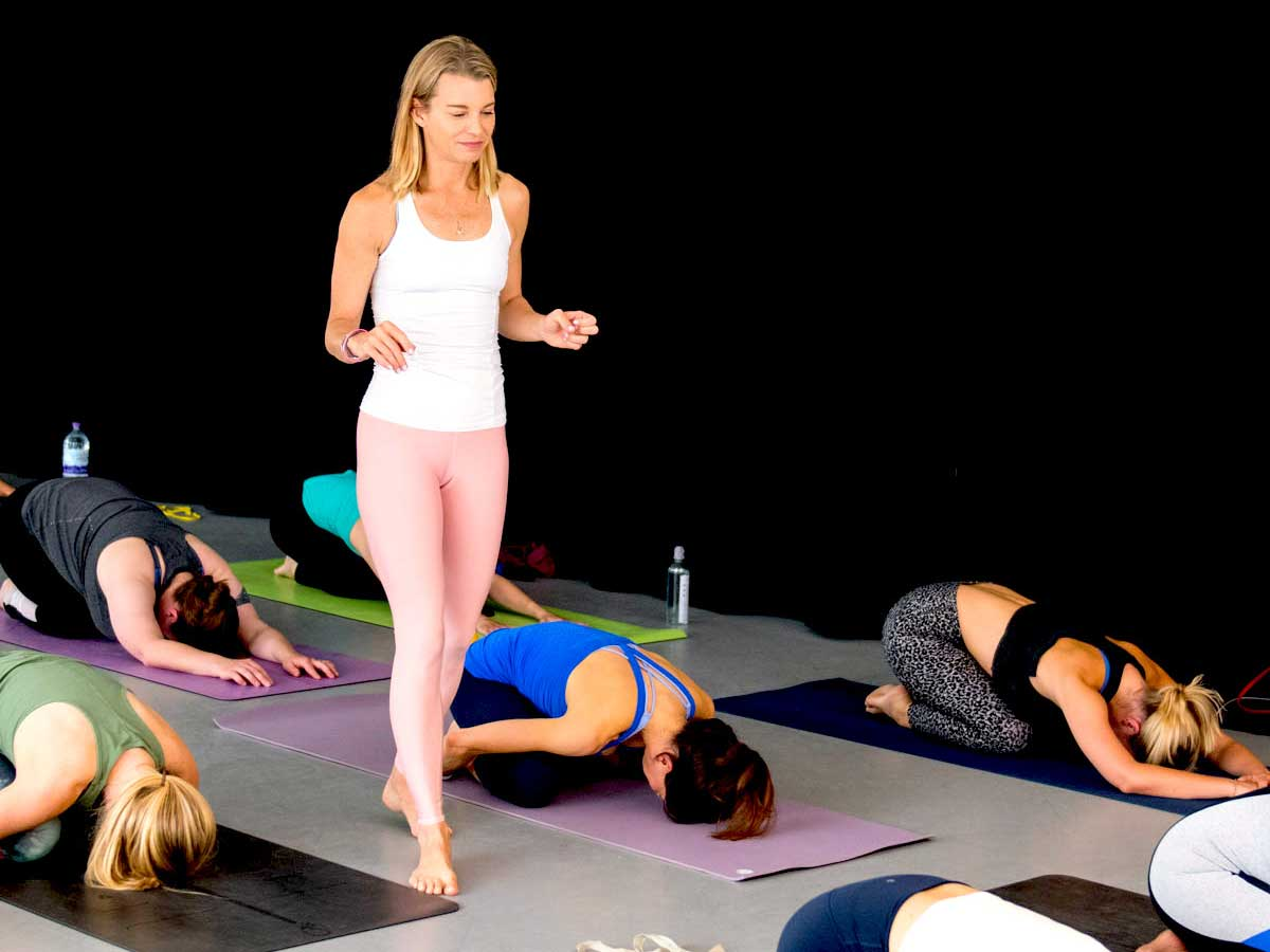 Julie Montagu is a yoga teacher in London