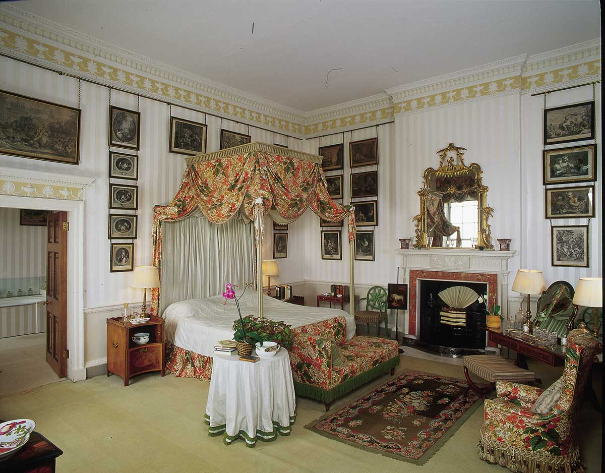Newby Hall's Print Bedroom
