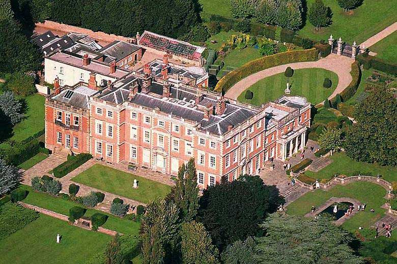 Newby Hall from the air