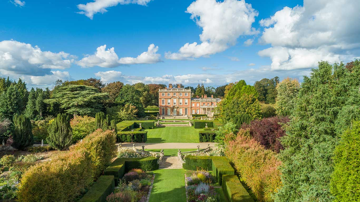 Newby Hall And Gardens Aerial Photograph