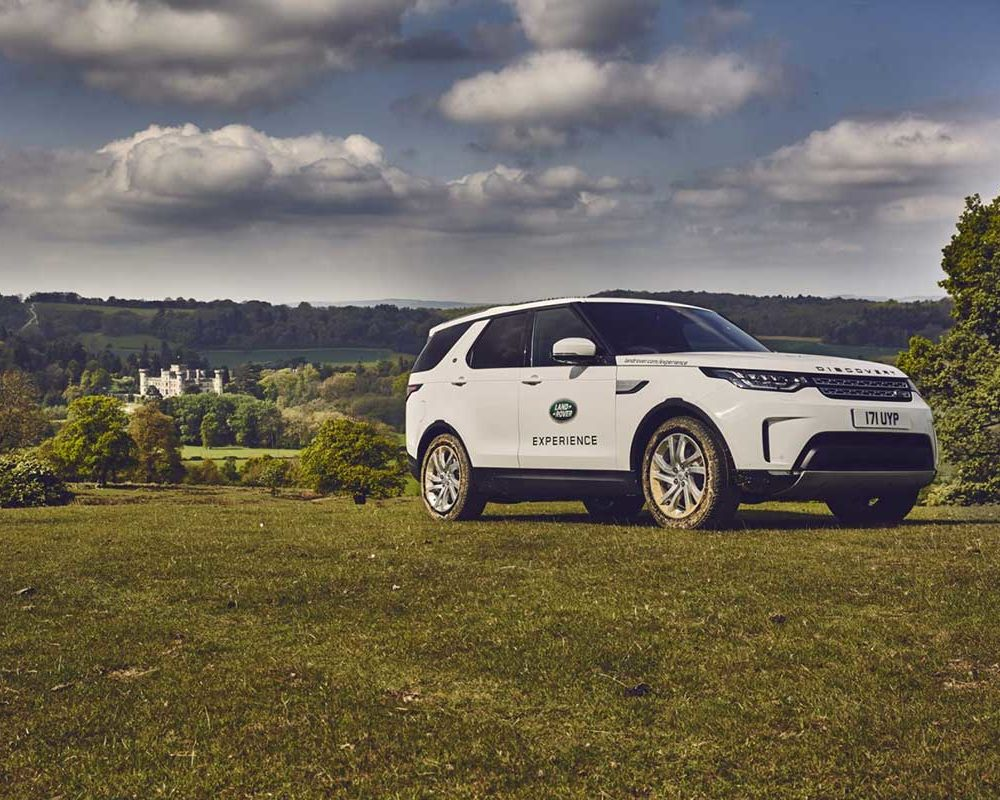 Off road experience at Eastnor Castle